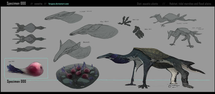 Creature Specimen 000 [owned by Forgess]