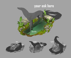 Your Esk Here! - Puddle [open slots!]
