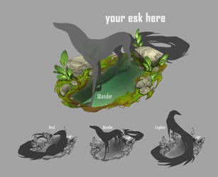 Your Esk Here! - Puddle [open slots!] by Sarspax