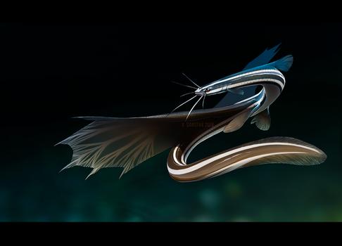 Barbeled Fishdragon - [CLOSED]