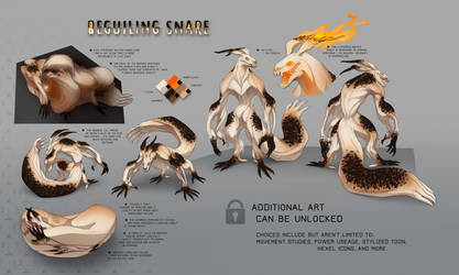 Beguiling Snare - Cypherus Grem Auction [CLOSED] by Sarspax