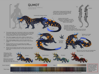 Qumot Closed Species Ref