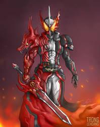 Kamen Rider Saber FanArt: Brave Dragon by TrongLeHoang