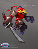 Tae Kwon Crow Concept from Skylander's Trap Team by MURCHIEMONSTER