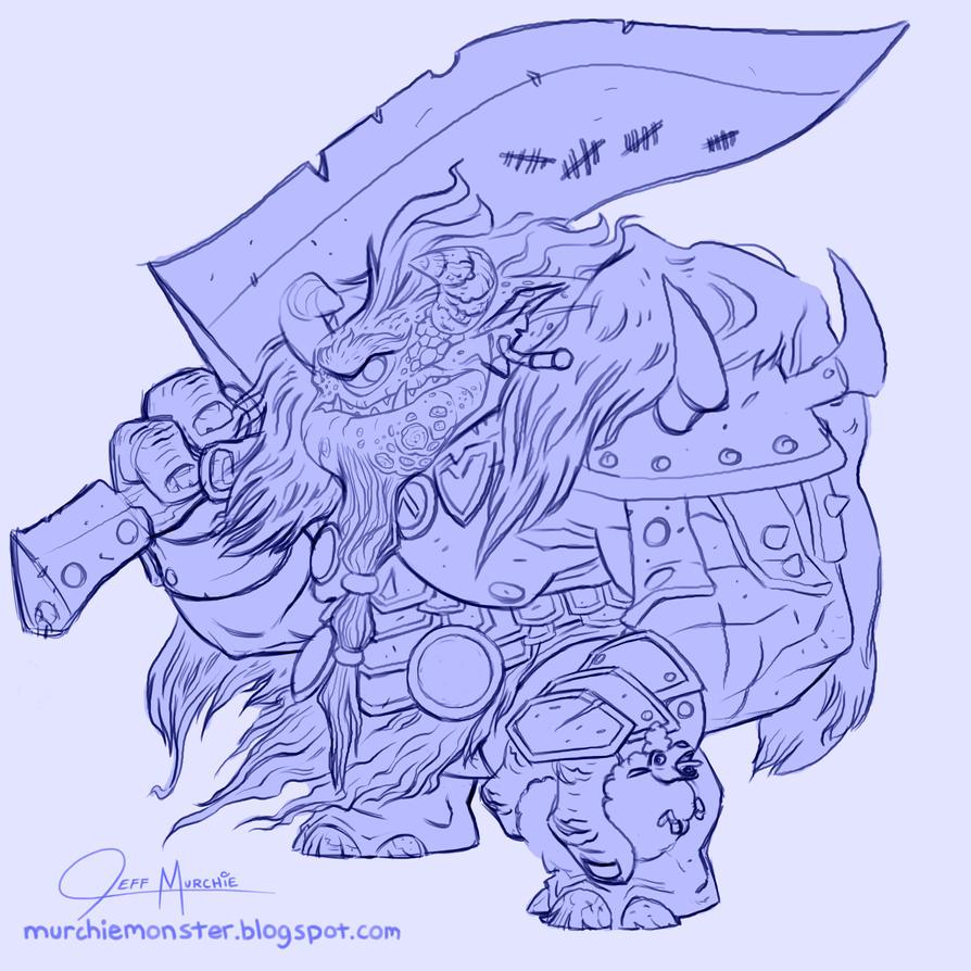Cyclops Sketch by MURCHIEMONSTER