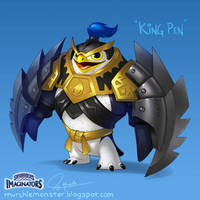 King Pen Concept for Skylanders Imaginators by MURCHIEMONSTER