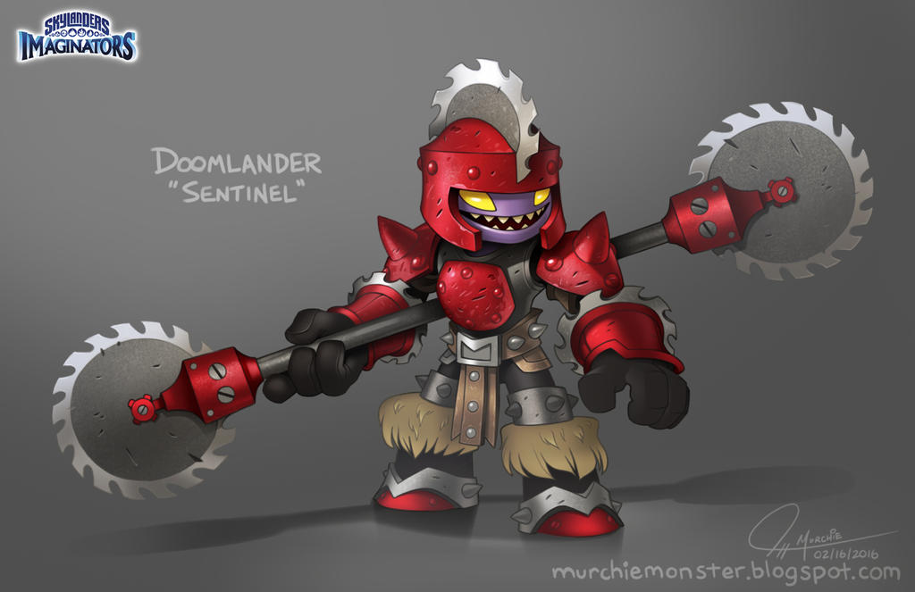 Skylanders Imaginators Doomlander Sentinel Concept By