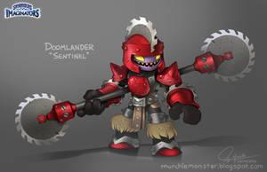 Skylanders Imaginators Doomlander Sentinel Concept by MURCHIEMONSTER