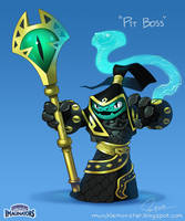 Pit Boss Skylanders Jeff Murchie by MURCHIEMONSTER