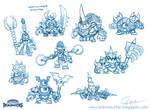 Original Doomlander Concept Sketches
