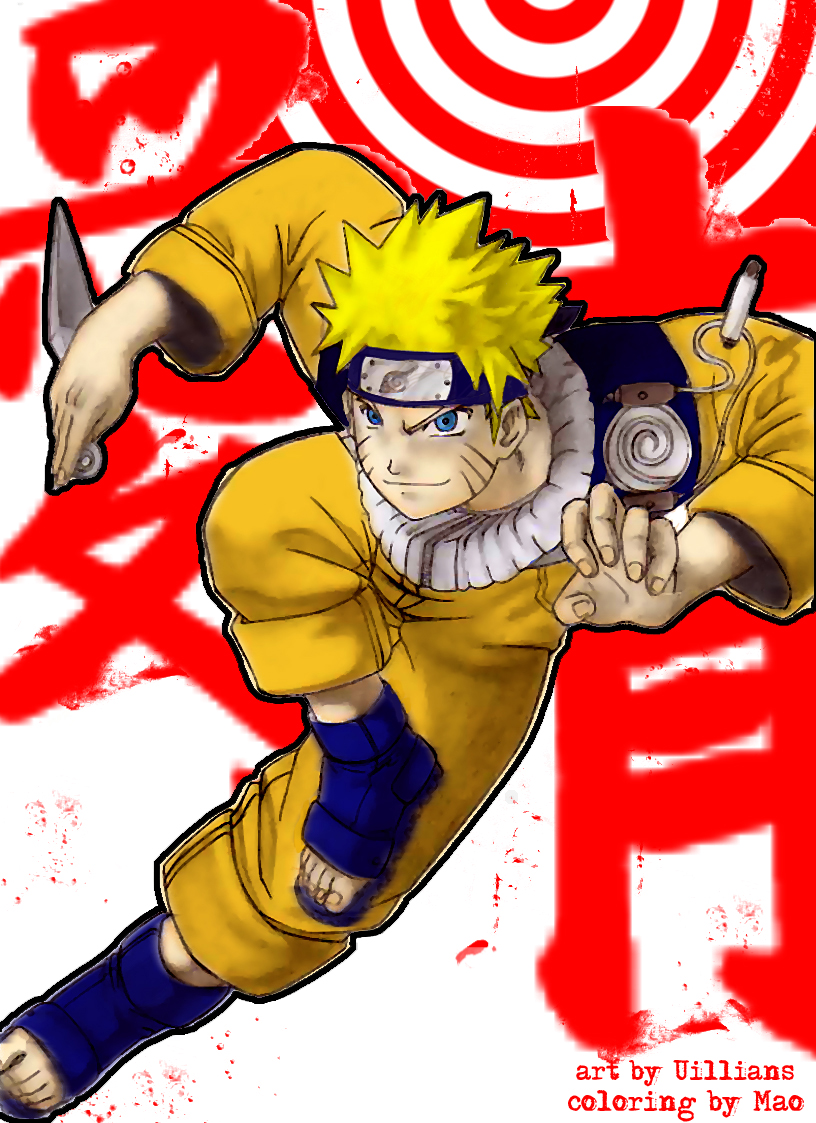 Naruto Colorido ~ Uzumaki Naruto colorido by Animelengo on DeviantArt