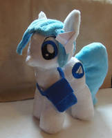 Pony Telegram Plush by CrazyDitty