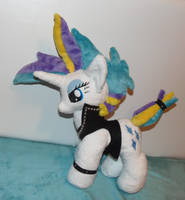 Raripunk plushie MLP by CrazyDitty
