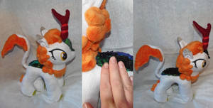 Plush Kirin For Sale With Sequins Chameleon