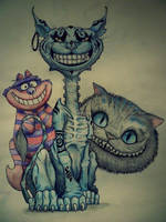 Cheshire Cat by Roxychamy