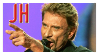 Johnny Halliday Stamp by AlexYo63