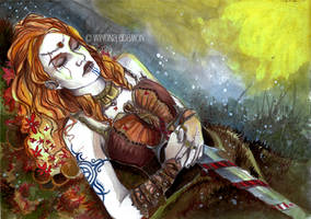 She was a Queen. by winona-adamon