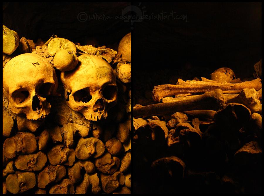Catacombes Paris I by winona-adamon