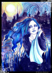 Freezing Blue by winona-adamon