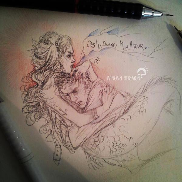 C'est la guerre mon amour by winona-adamon
