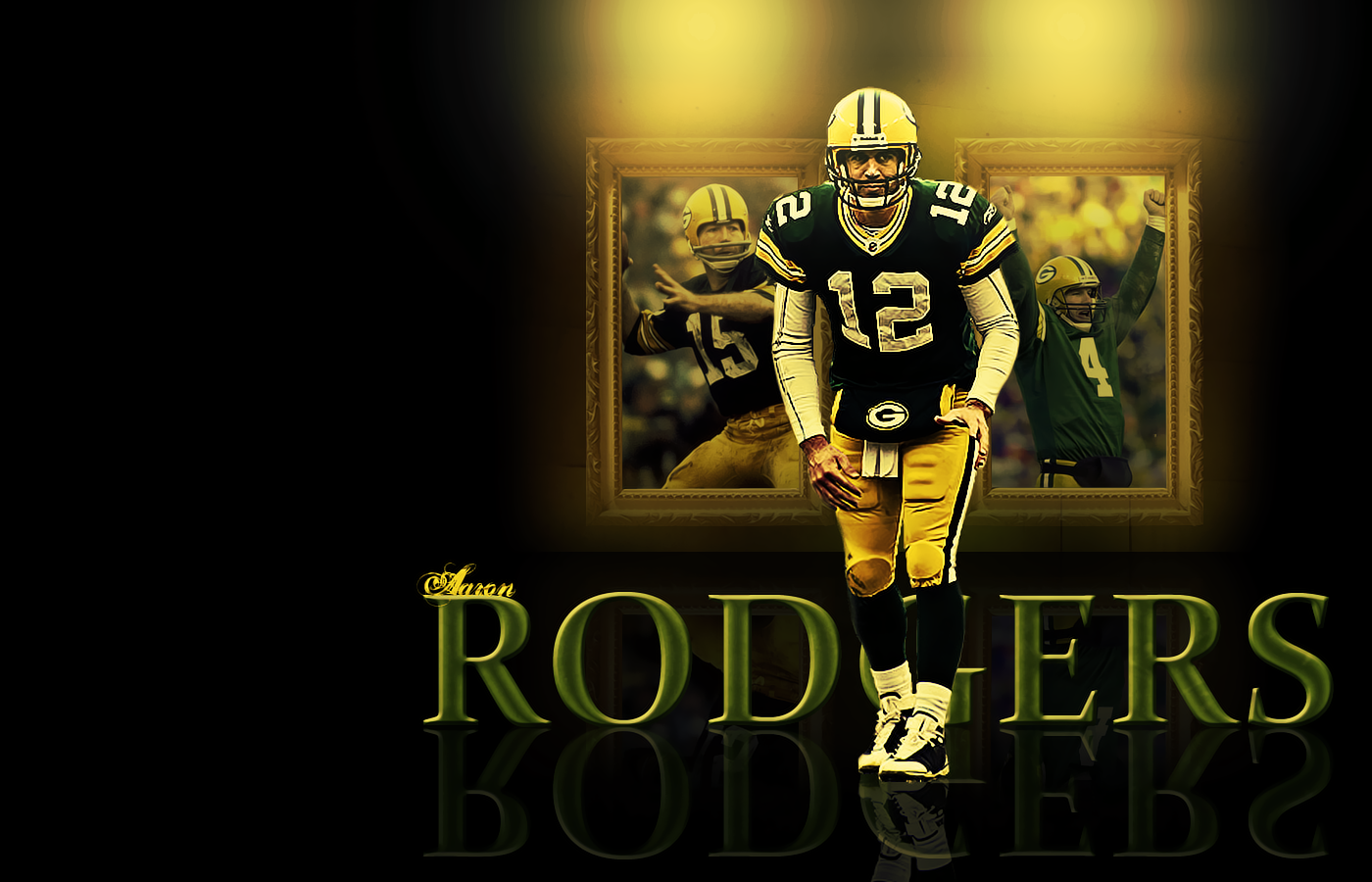 aaron rodgers wall by mdlr52192 on deviantart