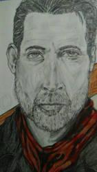 Negan (Jeffrey Dean Morgan) by nattiemnd