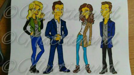 The Originals Simpsonized by nattiemnd