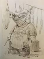 Butcher Swine by harperugby