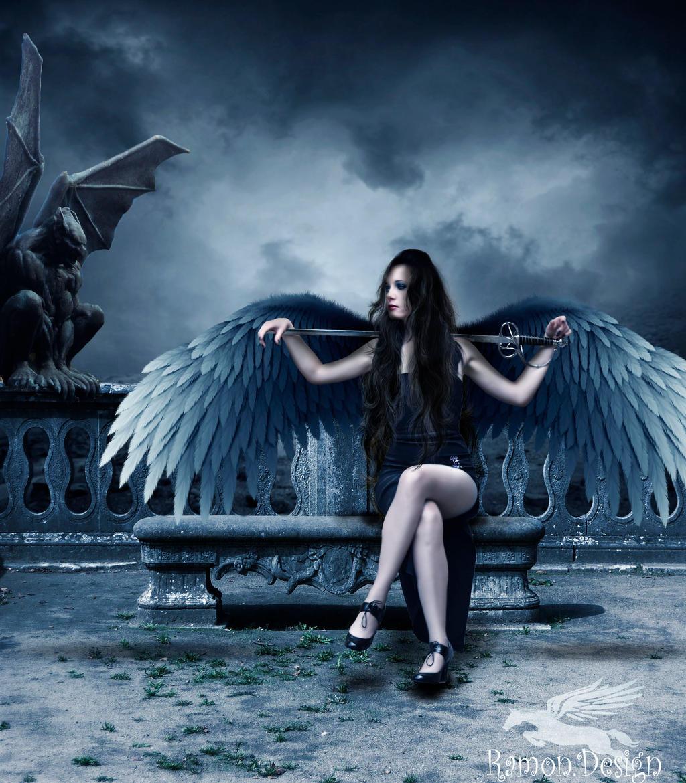 The Fallen the Angel by erikRamon