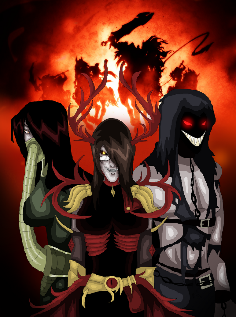 True Darksiders Fancomic True Cover by AngelKiller666