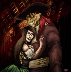 Captain Nathaniel Flint and Jessica
