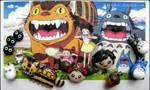 Studio Ghibli's Totoro Bracelet Charms