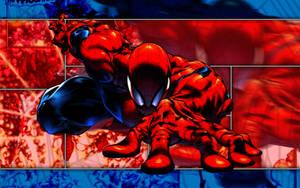 Spider-Man v1 Wallpaper by Meganubis