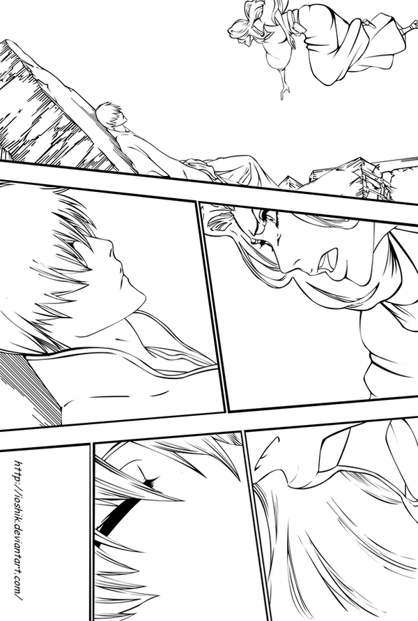 bleach 416-12 by ioshiklineart