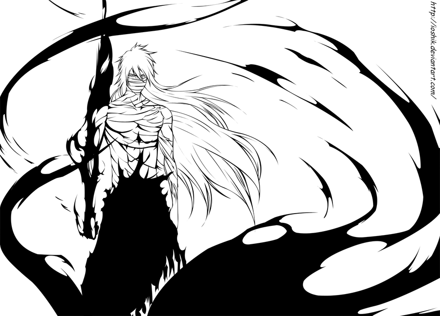 Line Art Anime : Bleach by ioshiklineart on deviantart