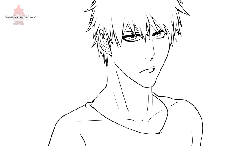 bleach 443 kurosaki ichigo by ioshiklineart