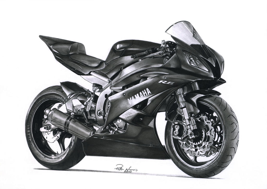 Yamaha R6 By Narvis