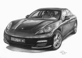 Porsche Panamera by narvis