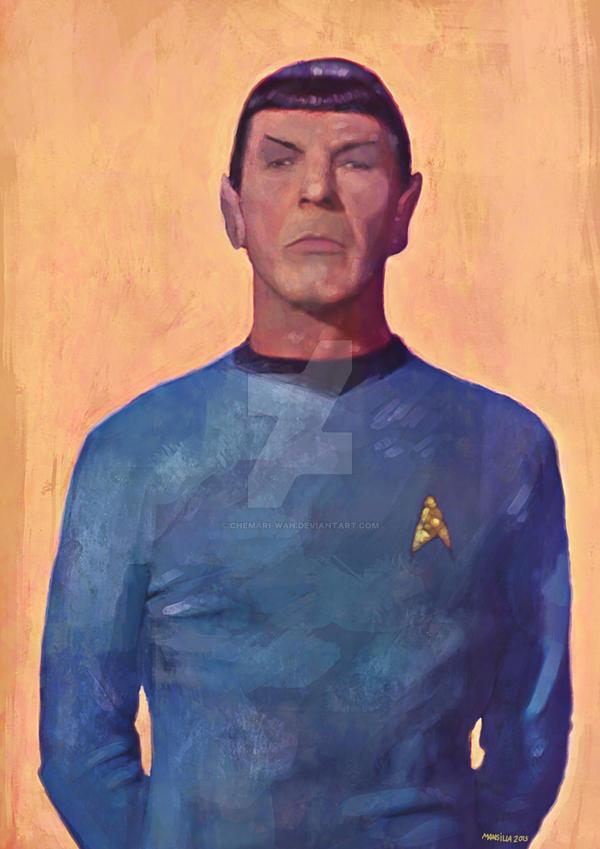 Spock by Chemari-Wan