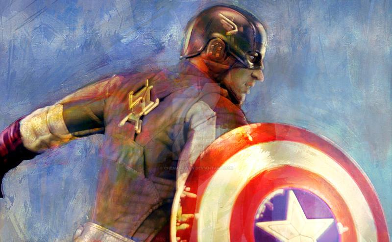 Captain America by Chemari-Wan