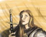 Joan of Arc by AoiKita
