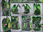 King Of Lost Forests Re-painted Dragon Statue