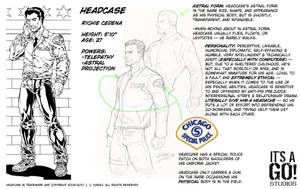 Headcase: Reference Art by itsago