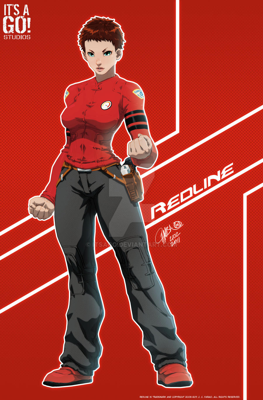 Redline by J. Cruz by itsago
