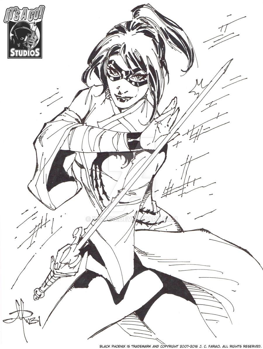 Black Phoenix by Rubi by itsago