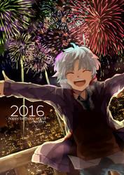 happy new year 2016!! by rheamii