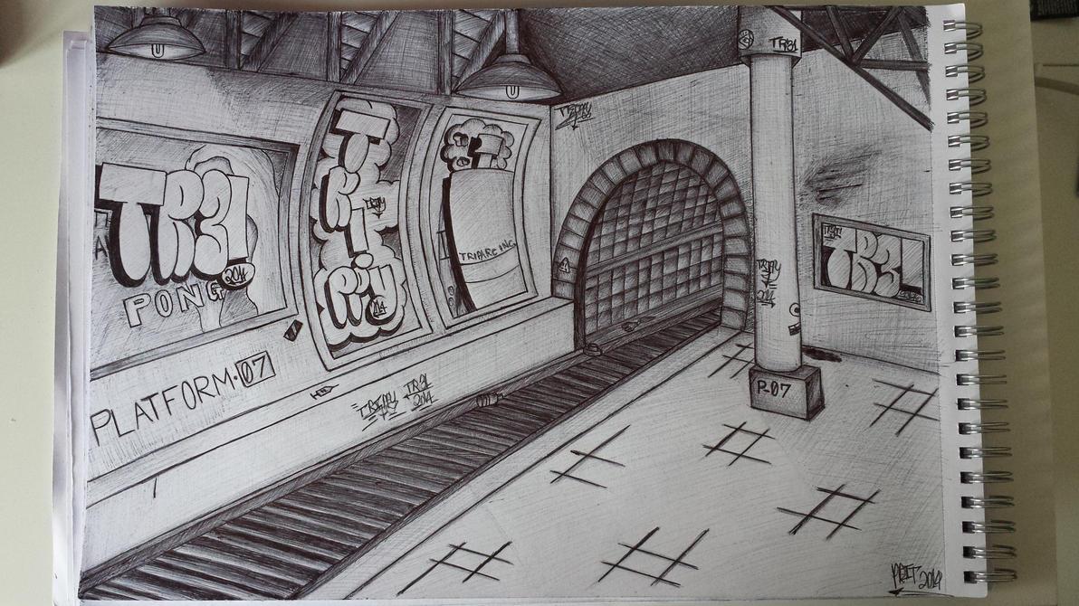 Platform 07 by TrippyGraff