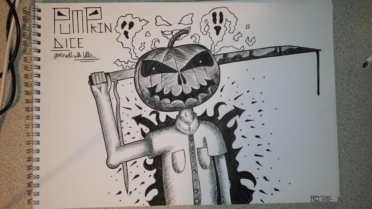 Pumpkin Dice by TrippyGraff