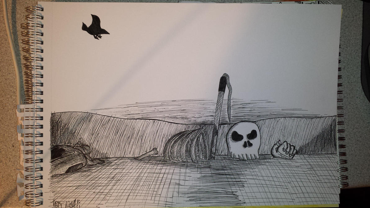 Burial by TrippyGraff