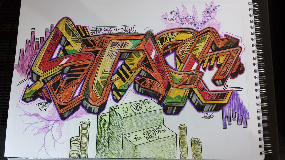 Stack by TrippyGraff